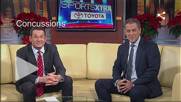 Dr. Barry Kosofsky talks with Fox Sports Extra about the movie Concussion
