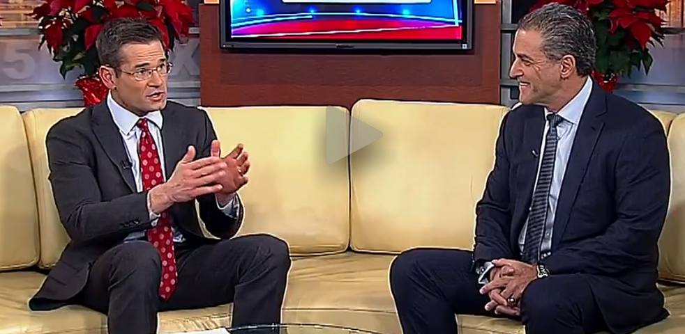 Dr. Barry Kosofsky on Fox5NY talking about Concussion
